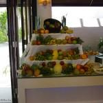 Restoran: lisaks puuviljalõikudele ka terved puuviljad