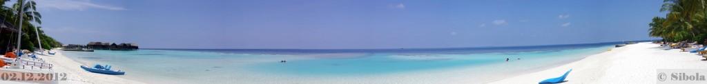 Panoraam meie villa tagant ookeanile